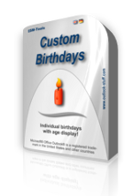 Virtual box of CustomBirthdays