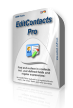 Virtual box of EditContacts Pro