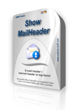 Virtual box of ShowMailHeader