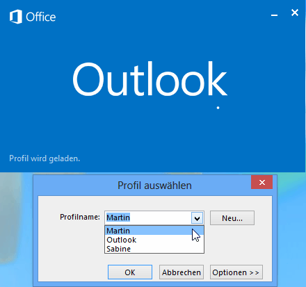 Outlook Profil